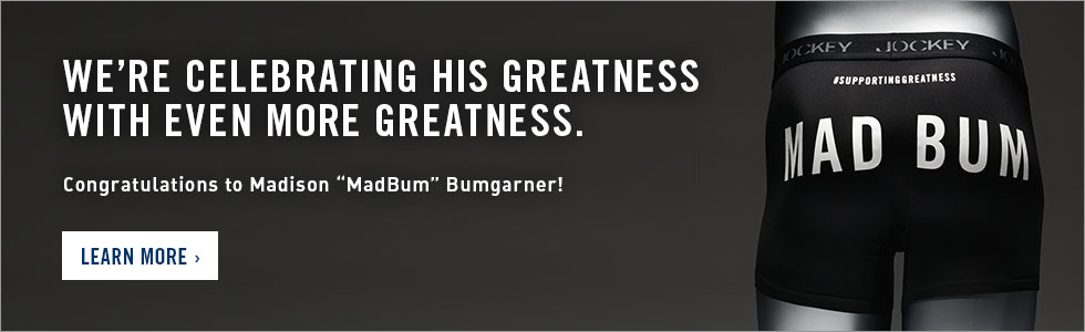We're celebrating his greatness with even more greatness. Congratulations Madison MadBum Bumgarner!