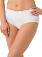 Jockey® No Panty Line Promise® Lace Hip Brief - 3 Pack