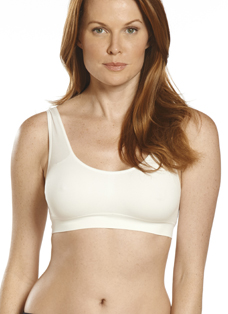 Jockey® Modern Micro Scoop Neck Crop Bra