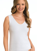 Jockey® Queen Naturals Seamfree® V-neck Tank