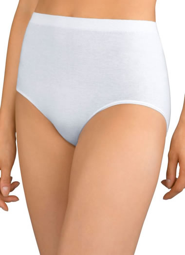 Jockey® Plus Size Comfies® Cotton Brief - 3 Pack