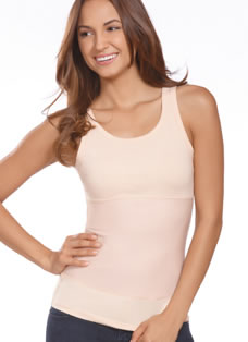 Jockey® High Back Scoop Neck Shapewear Tank