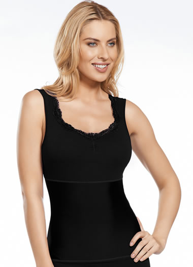 Jockey® Lace Shapewear Tank (1 of 1)
