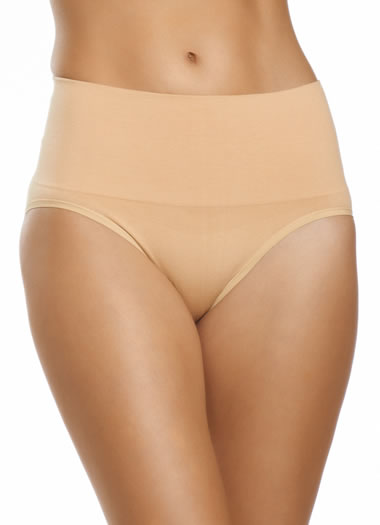 Jockey® Seamless Cotton Shapewear Brief (1 of 1)