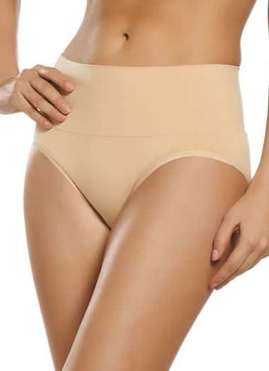 Jockey® Seamless Microfiber Shapewear Brief (1 of 1)