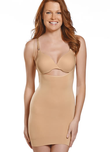 Jockey® Lightweight Microfiber Open Bust Dress (1 of 1)