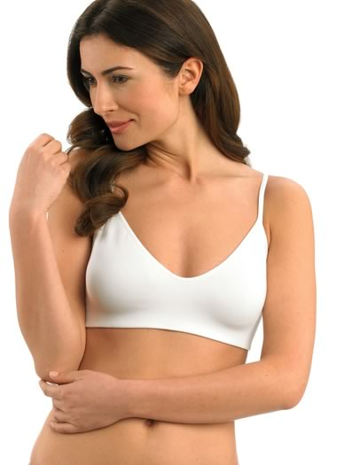 Jockey® Seamless Cotton No Wire Bra (1 of 1)