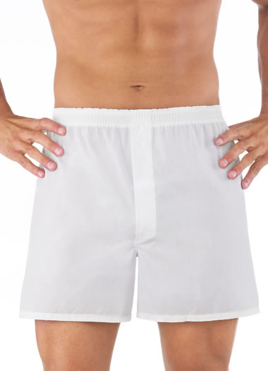 Jockey® Blended Full Cut Solid Boxer - 3 pack (1 of 1)