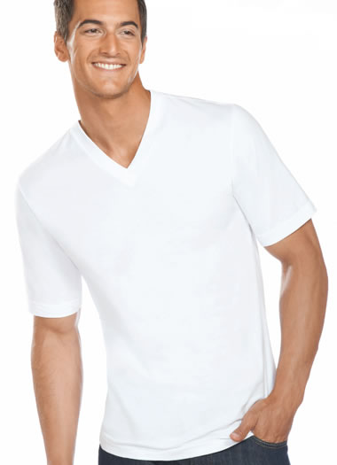 Jockey® Slim Fit Cotton V-Neck - 3 pack (1 of 1)