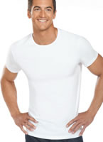 Jockey&#174; Slim Fit Cotton Stretch Crew - 2 pack