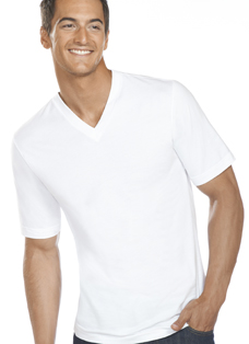 Jockey Slim Fit Cotton V-Neck - 3 Pack