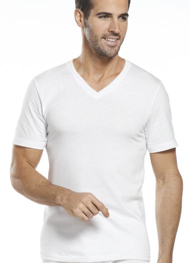 Jockey® Classic Tag-Free V-neck T-Shirt - 6 Pack Value! (1 of 1)
