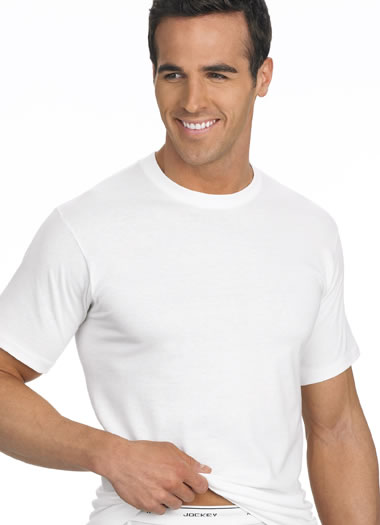 Jockey® Classic Tag-Free Crew Neck T-Shirt - 3 Pack