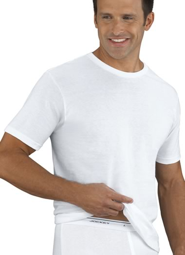 Jockey® Tall Man Tag-Free Crew Neck T-Shirt- 2 Pack