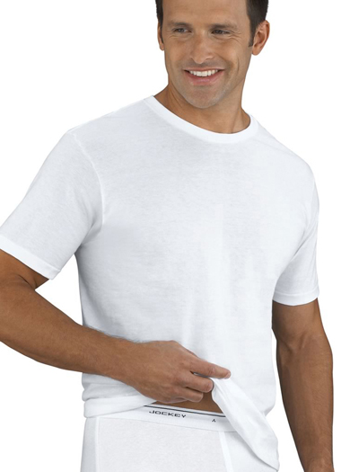 Jockey® Big Man Classic Tag-Free Crew Neck T-Shirt- 2 Pack (1 of 1)
