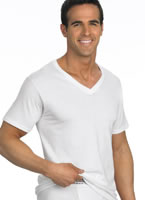 Jockey® Tall Man Classic Tag-Free V-Neck T-Shirt- 2 Pack