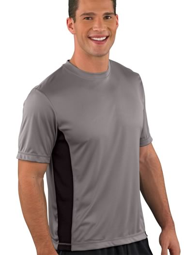 Jockey&amp;amp;reg; Performance Mesh Side Panel T-shirt (1 of 2)