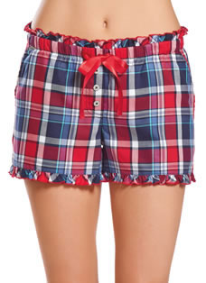 Jockey® Winter Plaid Shorts