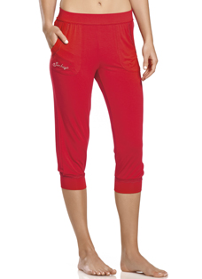 Jockey® Winter Red Capri Pants