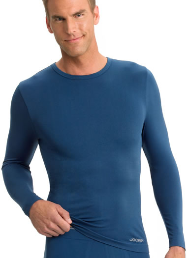 Jockey® Seamfree® Long Sleeve Crew (1 of 1)