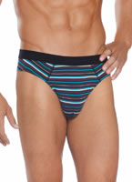 Jockey® Blue & Purple Stripe Low-rise Brief