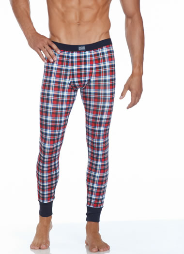 Jockey&amp;amp;reg; Holiday Plaid Long John (1 of 1)