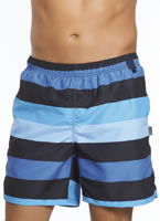 Jockey&#174; Navy Stripe Swim Trunks