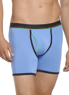Jockey® Contrast Fly Boxer Brief
