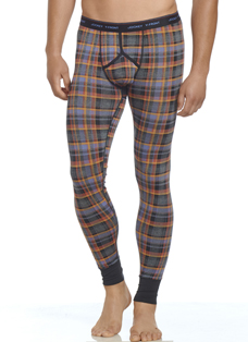 Jockey Golden Sun Plaid Long John