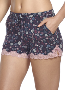 Jockey® Romantic Moments Snowflakes Sleep Shorts