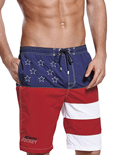 Jockey® Stars and Stripes Swim Shorts