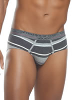 Jockey® Winter Grey Retro Brief