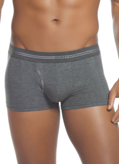 Jockey® Winter Grey Short Trunk with Fly (1 of 1)