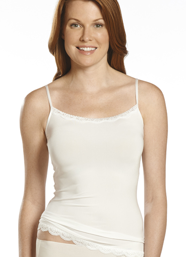 Jockey® No Panty Line Promise® Tactel® Lace Camisole (1 of 1)