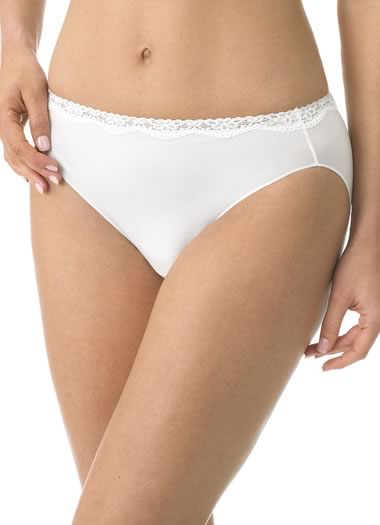 Jockey® No Panty Line Promise® Tactel® Lace Bikini (1 of 1)