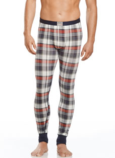 Jockey® Colorado Highlands Plaid Long John