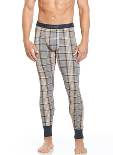 Jockey® Motor Rally Plaid Long John