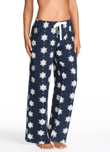Jockey® Winter Snowflakes Flannel Pant