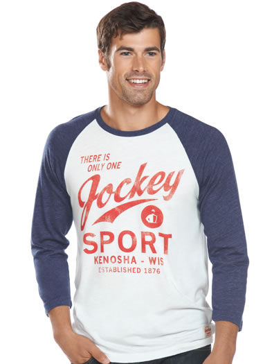 Jockey® By Sportiqe Long Sleeve Raglan (1 of 1)