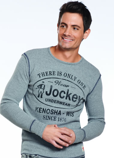 Jockey&amp;amp;reg; By Sportiqe Textured Long Sleeve (1 of 1)