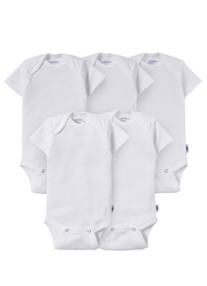 Jockey® Short Sleeve Bodysuit - 5 Pack