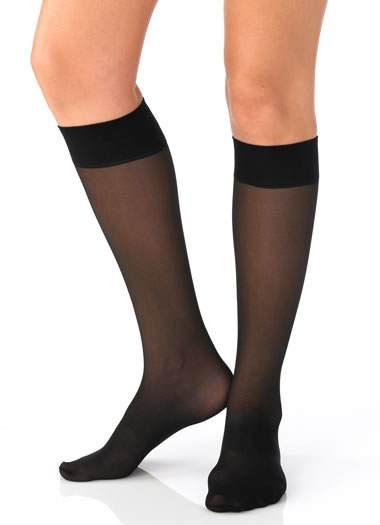 Touch of Toning Knee Highs - 3 pair
