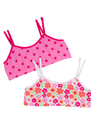 Jockey® Girls Crop Top - 2 Pack (1 of 1)