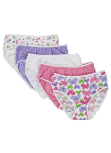 Jockey® Girls Classic Hipster - 5 Pack (1 of 1)