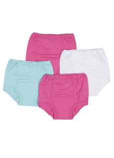 Jockey Girls Toddler Training Pant - 4 Pack