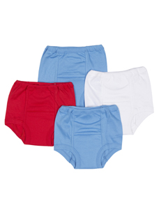Jockey Boys Toddler Training Pant - 4 Pack