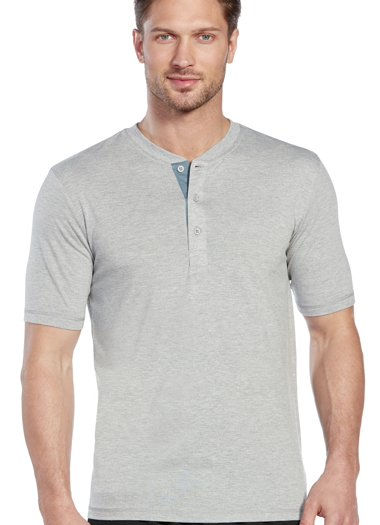 Jockey&amp;amp;reg; Soft Knit Henley Tee (1 of 1)