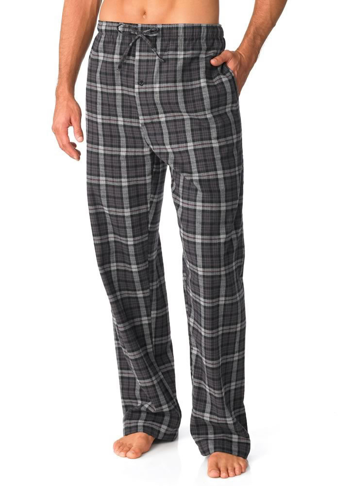 Jockey Mens Flannel Sleep Pant Sleepwear Pants cotton ...