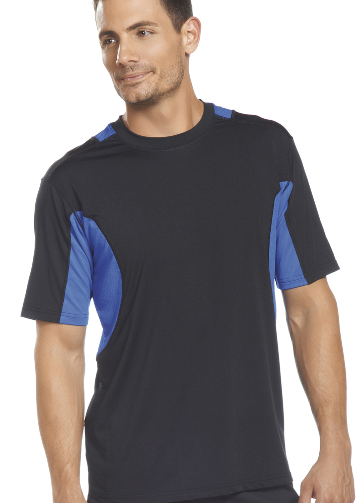 jockey mens active mesh t shirt sportswear shirts polyester ebay. Black Bedroom Furniture Sets. Home Design Ideas
