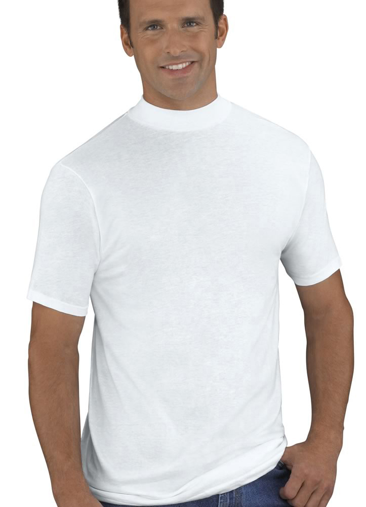 jockey mens mock neck t shirt 2 pack t shirts shirts 100